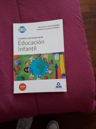 libro de unidades didácticas educacion infantil