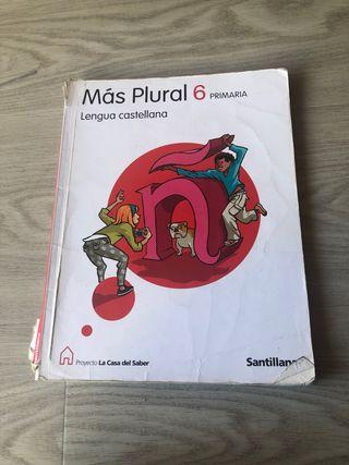 Libro de sexto de primaria lengua castellana