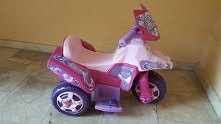 Moto eléctrica infantil