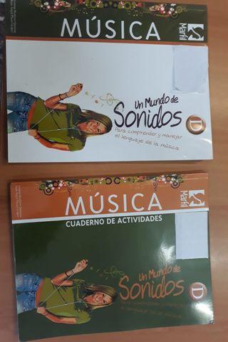 LIBROS MUSICA 4 ESO