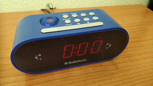 Radio-despertador Audiosonic