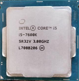 Intel core i5-7600k 3.8-4.2ghz 4 cores OC unlock