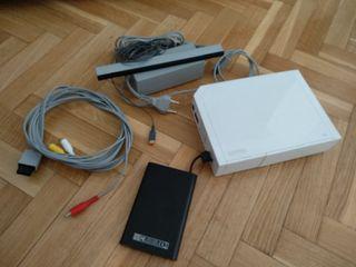 Consola Nintendo Wii con disco duro muchos extras