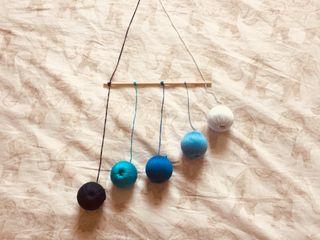 Juguetes para bebe.Móviles Montessori 0-6 meses.