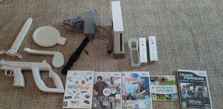 Consola Wii juegos accesorios