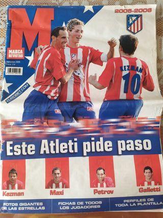 revista atletico de madrid 2005/2006
