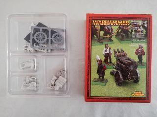 Cañón Salvas Imperio Warhammer