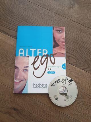 Libro francés alter ego B2 con cd.