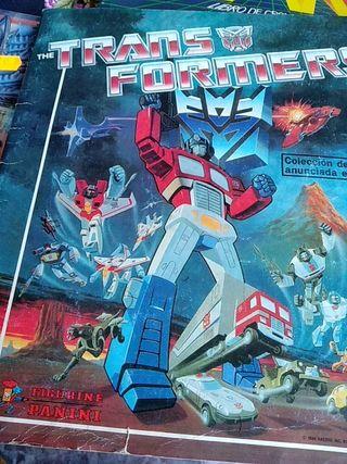 Album de cromos Transformers 80S