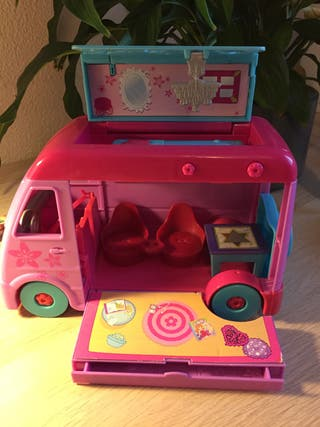 Polly Pocket. Autocaravana