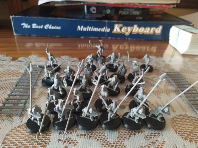 figuras warhammer señor de los anillos