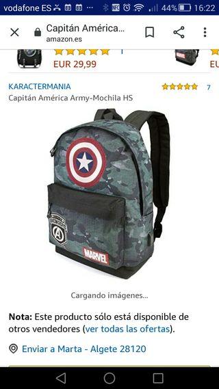Mochila Marvel Nueva