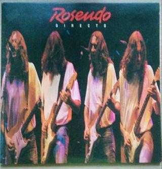 Disco de vinilo Rosendo. Directo