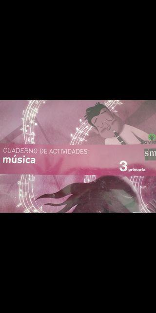 Cuaderno Actividades Música 3º prim. Savia