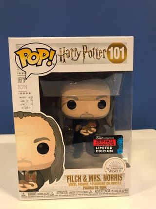 Funko pop FLICH & MR. NORRIS harry potter