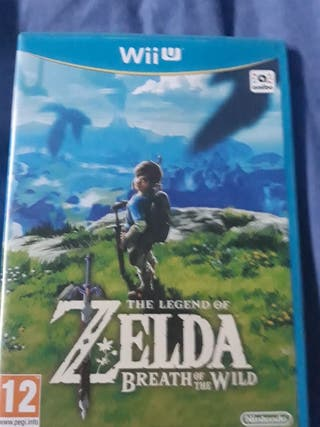 6 juegos de Wii U.