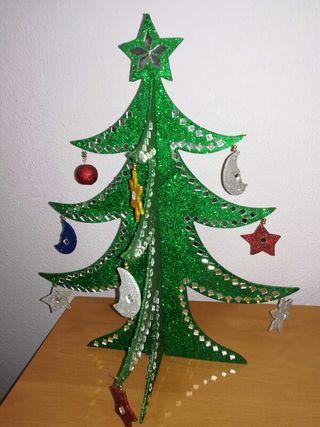 Arbol de navidad decorativo desmontable