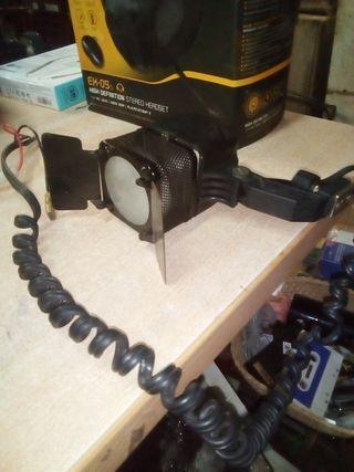 foco flash de cámara