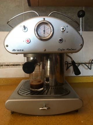 Cafetera ariete cafe retro