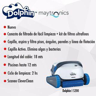 ROBOT LIMPIAFONDOS DOLPHIN S200