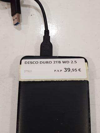 disco duro de 2tb wb