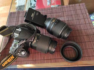 Camara reflex Nikon 3100