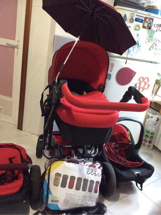Conjunto silla trio bebé JANE RIDER
