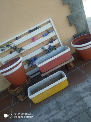 Jardineras, ... LOTE