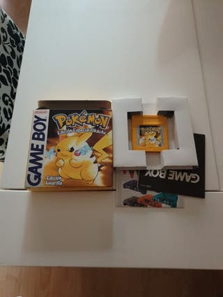pokemon amarillo game boy