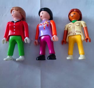 playmobil lote chicas