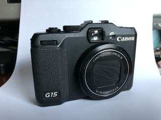 Cámara canon G15