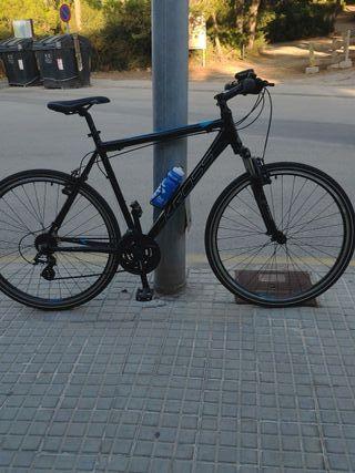 Bicicleta híbrida semi Nueva, talla XL