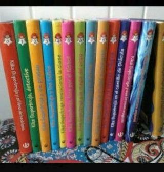 14 libros de Kika superbruja
