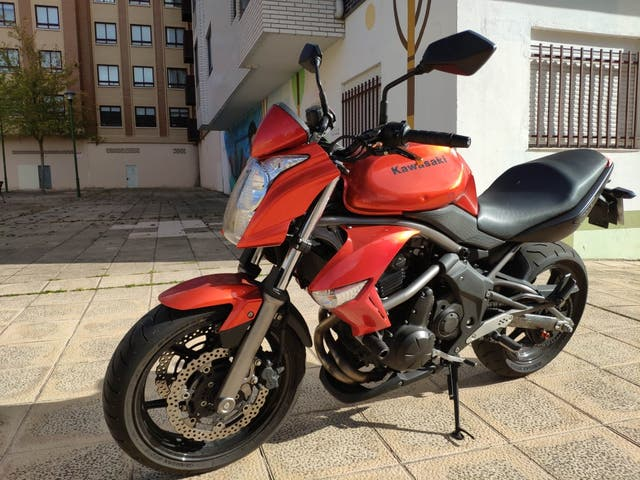 Kawasaki er6n 20.000km 2010