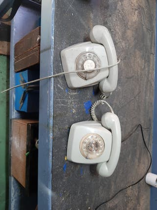 telefonos antiguos de baquelita