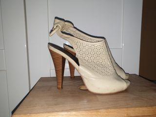 sandalia / zapato abierto 39