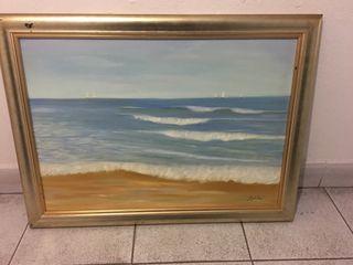 Cuadro paisaje marino