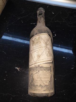 botellas de Marqués de riscal elciego de 1936