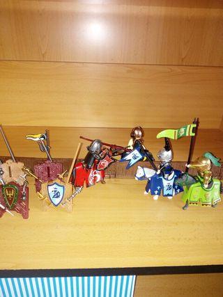 Playmobil justa torneo medieval.