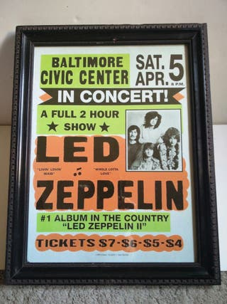 Cuadro Led Zeppelin