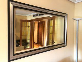 Espejo de madera 120x50 cm