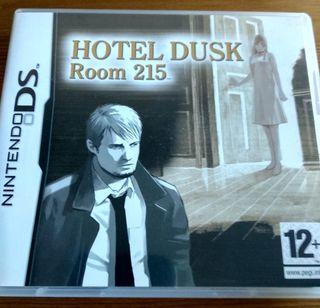 NINTENDO DS DSI 3DS 2DS HOTEL DUSK ROOM 215 PAL ES