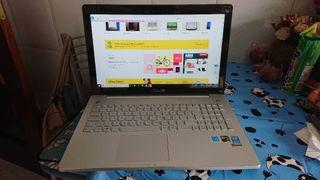 Portátil Asus N550JK-CM396H Intel i7-4710HQ