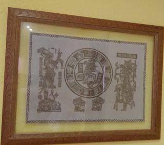 Cuadros-papiros Mayas