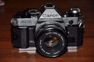 Canon AE1 Program ,Objetivo Sigma Y Vivitar Zoom