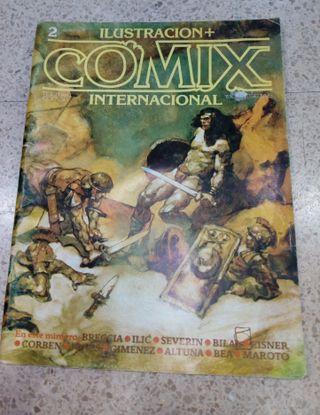 ILUSTRACIÓN + COMIC INTERNACIONAL Nº2