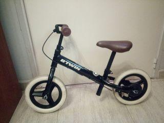 bicicleta sin pedales para iniciación