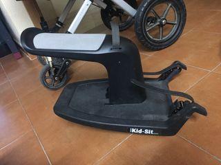 Patinete con asiento para carrito Kid Sit