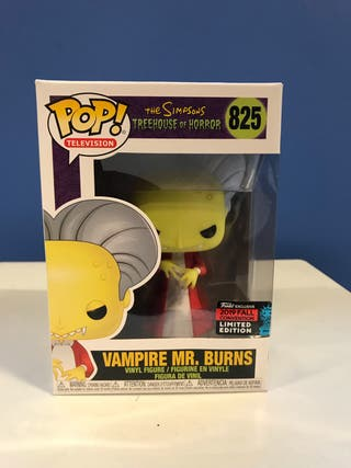 Funko pop VAMPIRE MR. BURNS the simpsons