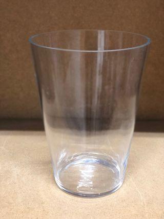 Jarrón de cristal 26 x 19cm